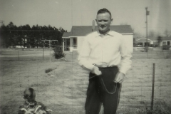 Flying_kite_in_Grifton_with_Johnnie