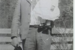 Jesse Vaughan and Daughter Mildred