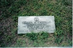 Cullen_W_Castello_Gravestone