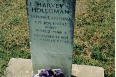 Harvey_H_Holloman_Gravestone